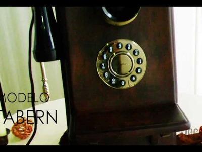 Teléfono antiguo estilo Vintage, modelo Tabern