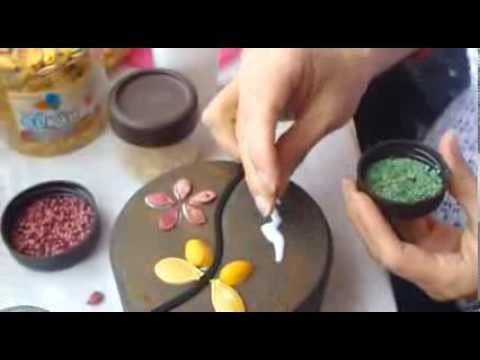 Trailer arte con semillas
