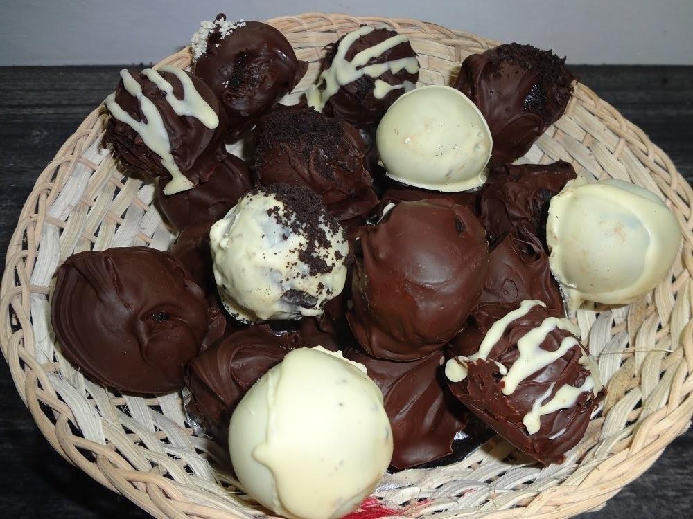 TRUFAS DE OREO CUBIERTAS DE CHOCOLATE. OREO CHOCOLATE TRUFFLES  (Receta Facil) | Mirem Itziar ❤