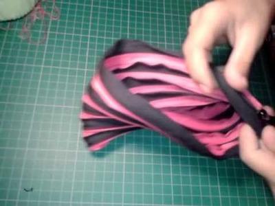 Tutorial: bolsa de zipper.
