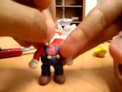 Tutorial de como hacer a Mario bros de plastilina :)