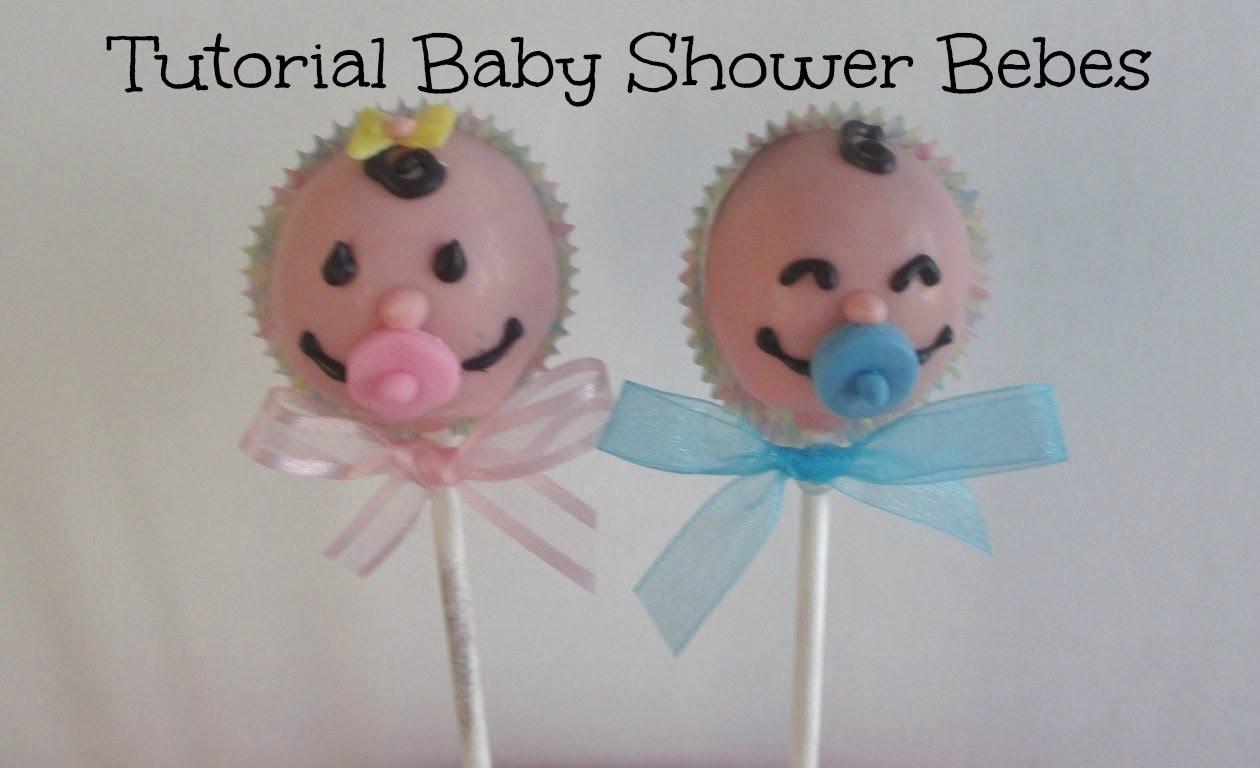 Tutorial Paletas De Pastel**BABY SHOWER** Caritas de Bebe Niño y Niña - Madelin's Cakes