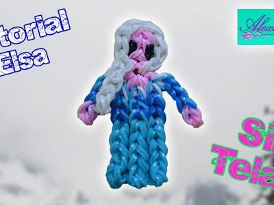 ♥ Tutorial: Princesa Elsa de Frozen de gomitas (sin telar) ♥