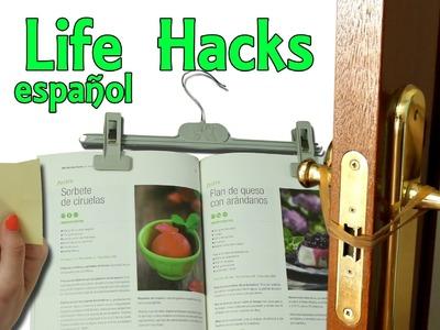 3 Life Hacks en Español # 6 - Hacks en la vida real (Experimentos Caseros)