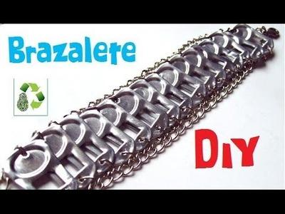 36. DIY BRAZALETE (RECICLAJE DE ANILLAS)