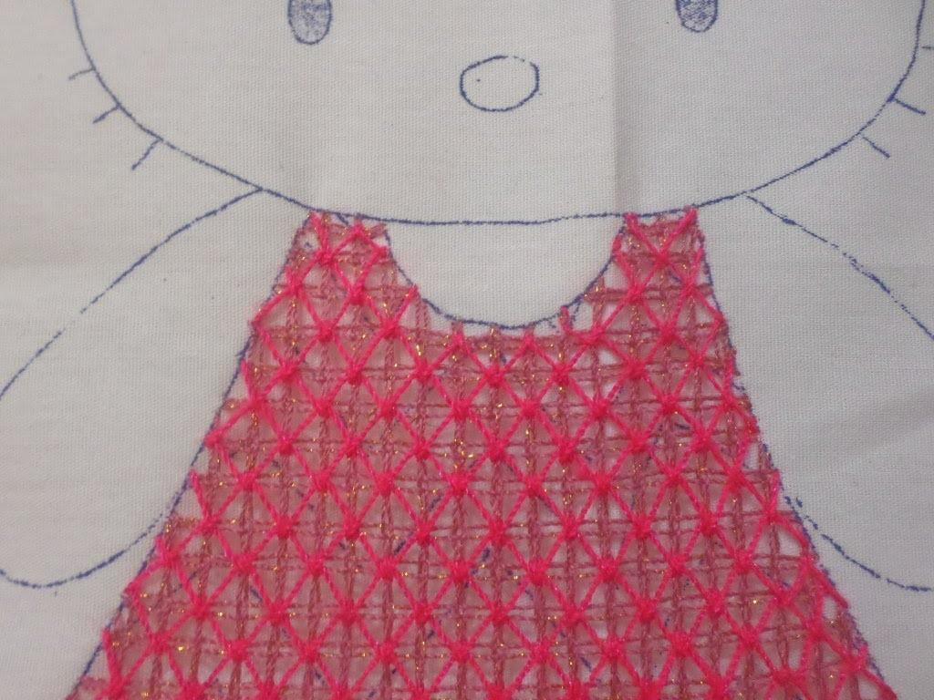 Bordado Fantasia Vestido Kitty # 2