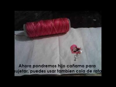 Collar JB♥ Corazon doble uso