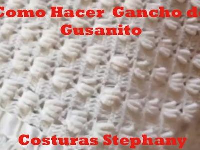 COMO HACER GANCHO DE GUSANITOS