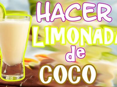 Como Hacer Limonada de COCO