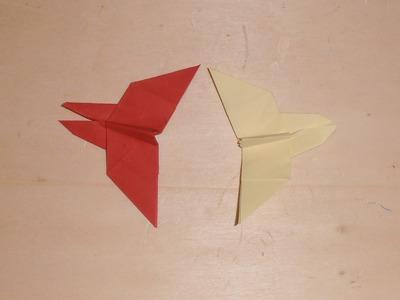 Cómo hacer mariposas con papel