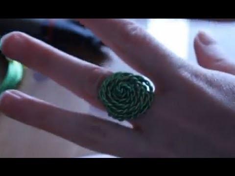 Cómo hacer un anillo con forma de rosa | facilisimo.com
