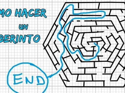 Cómo hacer un laberinto hexagonal
