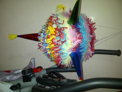 Como hacer una piñata ABRE FACIL