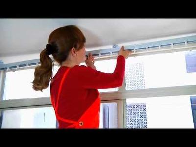 Cómo instalar persianas
