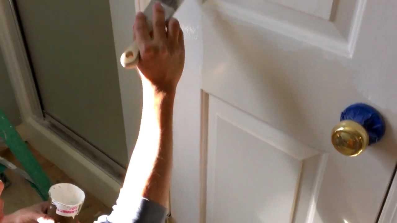 Como pintar una puerta