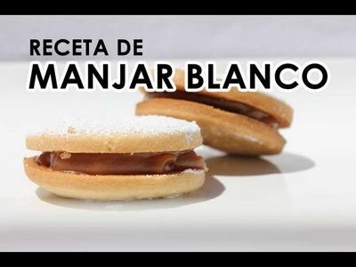 Como preparar MANJAR BLANCO o Dulce de Leche - receta de 1 ingrediente!