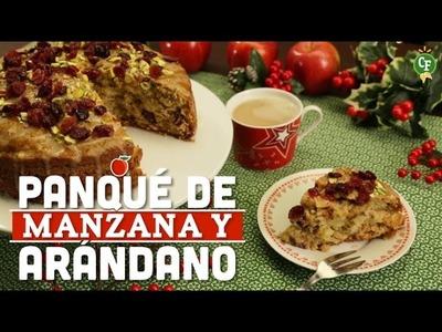 ¿Cómo preparar Panqué de Manzana y Arándano? - Cocina Fresca