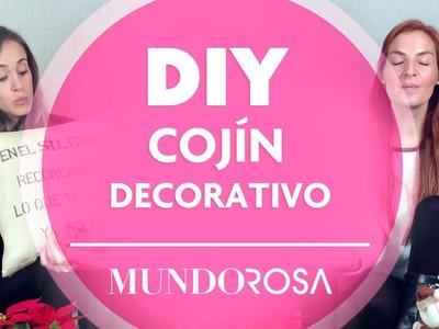 DIY: Cojín decorativo