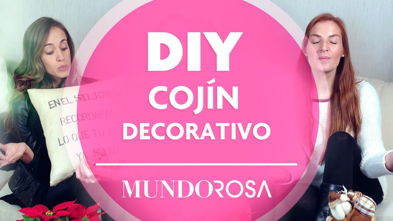 DIY: Cojín decorativo