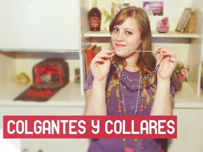 DIY - COLLARES.COLGANTES ¡MUY FÁCIL Y ECONÓMICO! @yanibrilz
