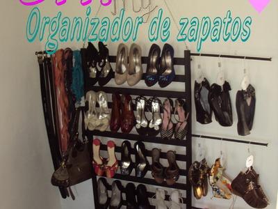 DIY: Organiza tu closet. Organizador de Zapatos multifuncional [Carlu2013]