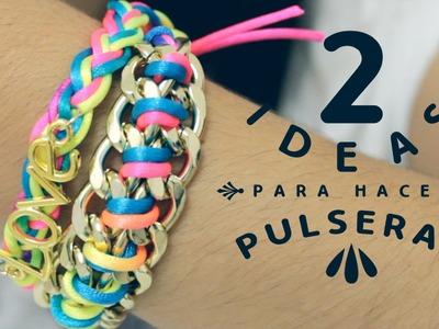 DIY Pulseras Arm Candy. Accesorios de Moda - Hablobajito