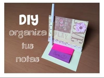 :: FACIL:: Organizador de notas adhesivas (porta post-it)