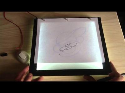 Inker mesa de luz ultra delgada