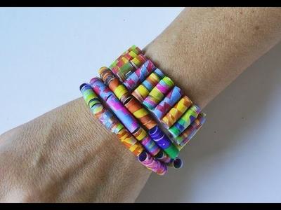 Manualidades - Pulsera y collar de colores - Manualidades para todos