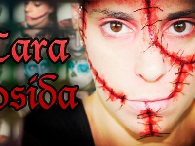 Maquillaje Halloween Cara cosida Makeup FX #26 | Silvia Quiros