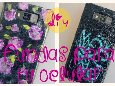 Personaliza las fundas de tu celular  (D.I.Y.) - Blooudland  :)