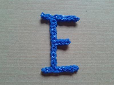 ♥ Tutorial: letras F y E hechas de gomitas (sin telar) ♥