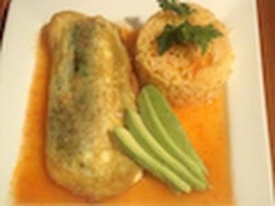 4 - Calabazas rellenas de queso capeadas con huevo - La receta de la abuelita
