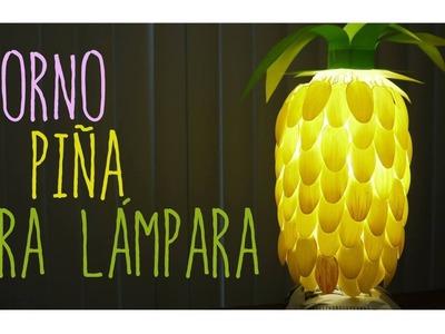 ADORNO DE PIÑA PARA LÁMPARA (FÁCIL Y SENCILLO) ♥ @CELLEGRINI