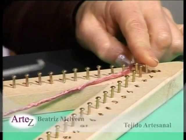 Artesanía textil en telar