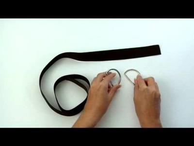 Cómo confeccionar un cinturón