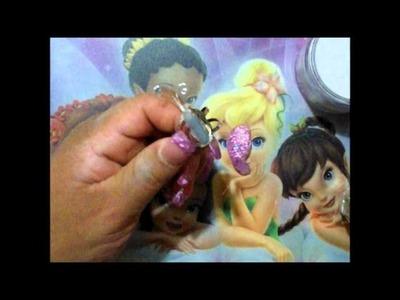 Como hacer anillo de mariposa en acrilico