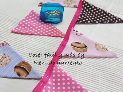 Cómo hacer un patrón para guirnaldas o banderines