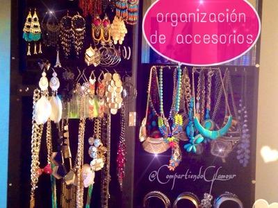 Como organizar tus accesorios (collares, aretes , pulseras ) fácilmente