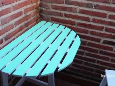 Cómo personalizar una mesa de madera | facilisimo.com