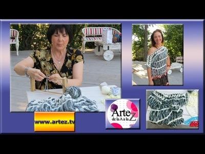 Cómo tejer una prenda con horquilla