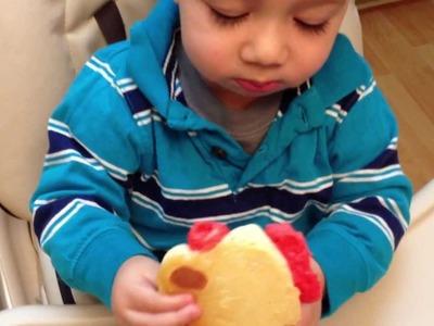 Desayuno - Pankekes Navideños - Rodolfo El Reno (Christmas Pancakes Rudolph)