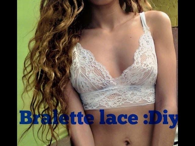 DIY:BRALETTE LACE (ENCAJE) PATTERN