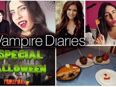 ESPECIAL HALLOWEEN!Disfrazate de Crónicas Vampiricas+Snacks! (ft.Princepiñas)