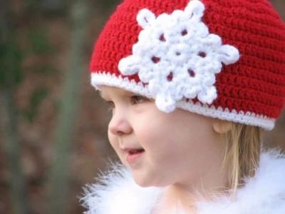Gorros navideños tejidos a crochet