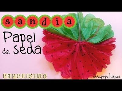 Lazo Sandia Papel de Seda