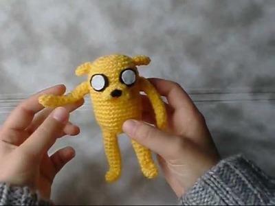 Presentación de amigurumi: Jake (Hora de Aventuras) de Amigurumi Universe.