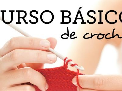 5. Punto Alto Doble - Curso Básico de Crochet para Principiantes