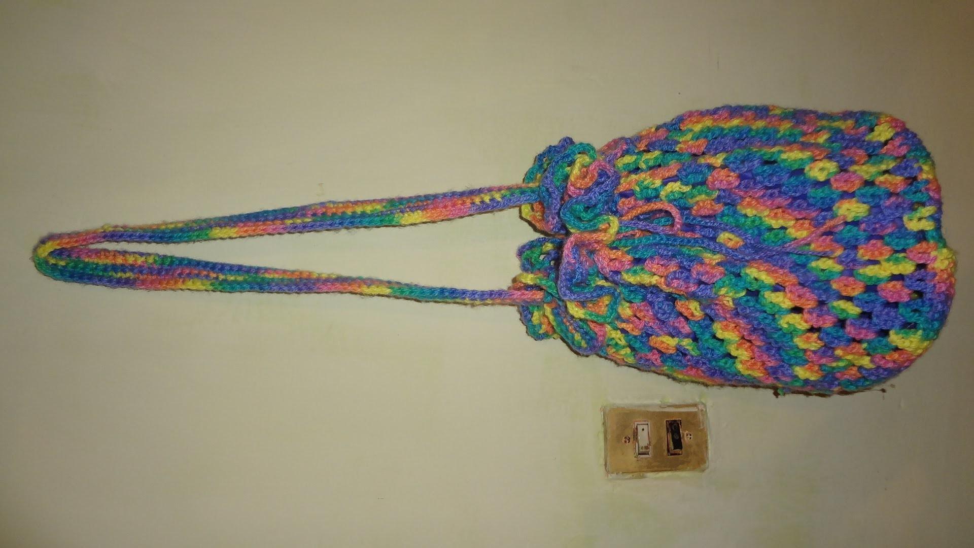 Bolsa tejida de colores  segunda parte   marimur 440