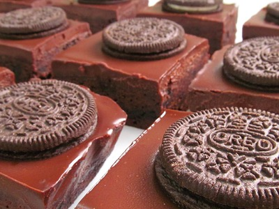 Brownie de Chocolate con Oreo